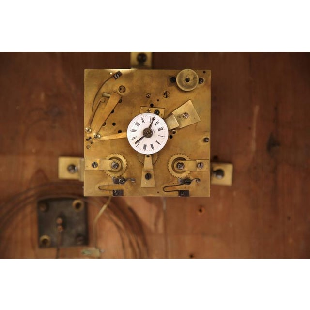 """French Working """"Clock Painting"""" For Sale - Image 9 of 10"""