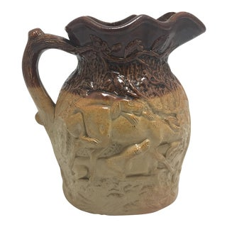 Doulton & Watts Salt Glaze Stoneware Pitcher