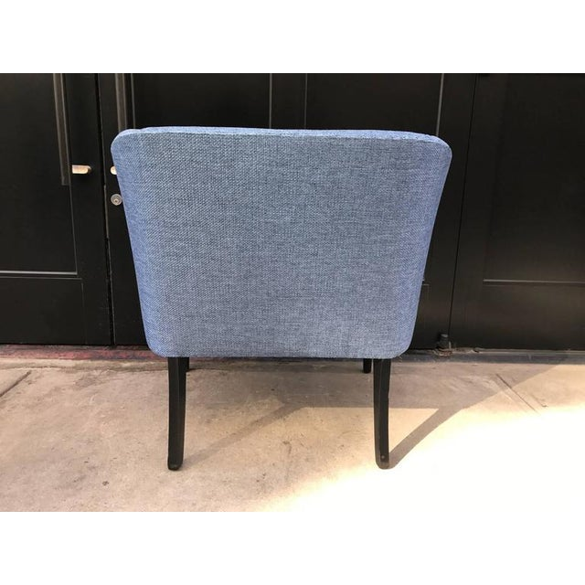 Pair of Mid-Century Modern Lounge Chairs For Sale - Image 4 of 6
