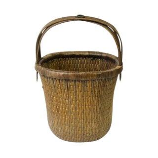 Antique Hand Made Chinese Basket