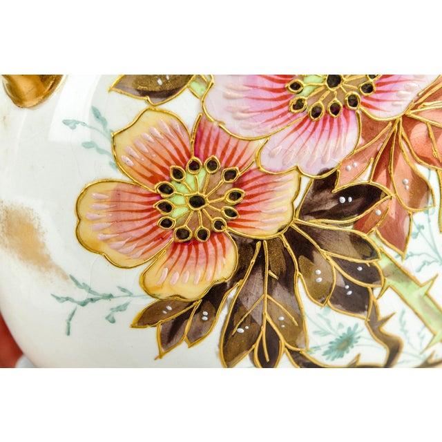 1900 - 1909 Antique Pair German Porcelain Pieces For Sale - Image 5 of 8