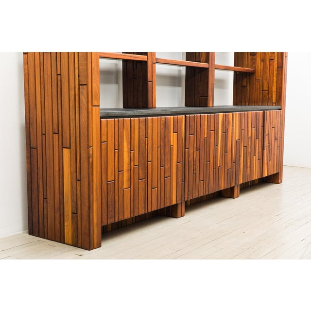 Phillip Lloyd Powell Phillip Lloyd Powell, Custom Cabinet With Shelves, Usa, 1960s For Sale - Image 4 of 7