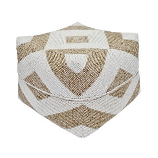 Bamboo Beaded Box X-Large For Sale