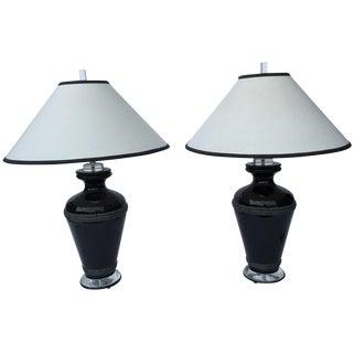 Van Teal Lamps - A Pair For Sale
