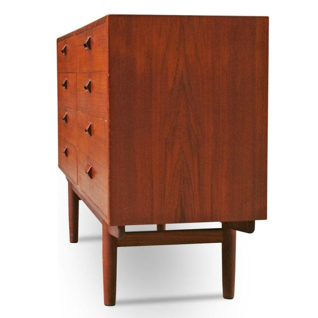 Danish Modern Børge Mogensen Teak Chest of Drawers For Sale - Image 3 of 7
