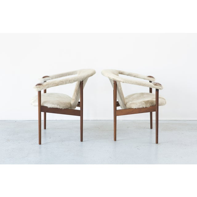 Set of Adrian Pearsall Lounge Chairs - Image 4 of 11
