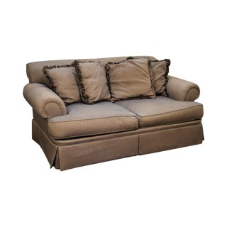 Beacon Hill Custom Upholstered Traditional Loveseat
