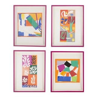 Vintage Henri Matisse Group of Lithographs - Set of 4 For Sale