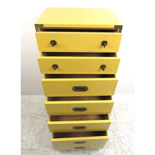 Vintage Modern Campaign Style Chest of Drawers Preview