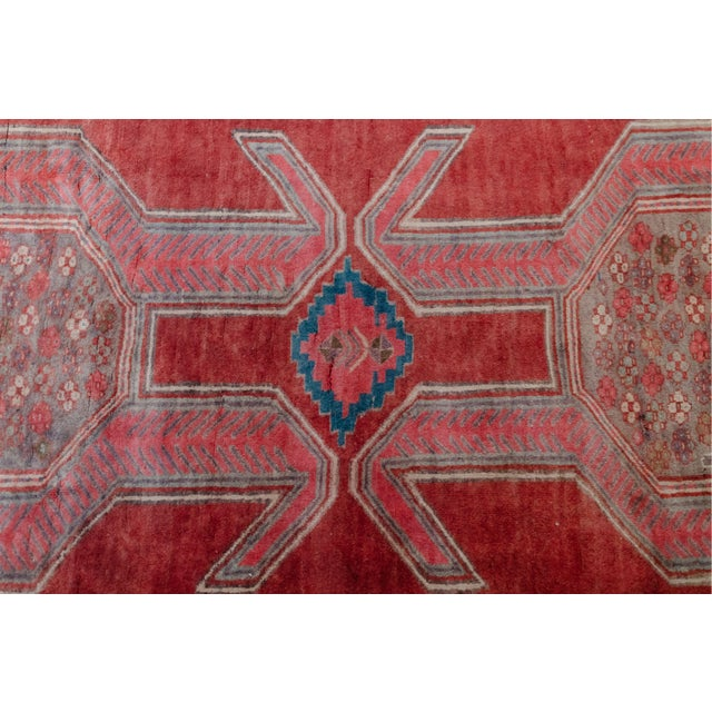 """1940s Vintage Nomadic Persian Rug-4'8'x9'7"""" For Sale - Image 11 of 13"""