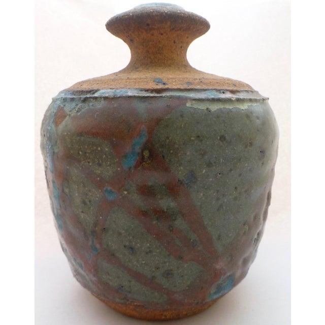 Studio Pottery Lyman California Studio Pottery Vase For Sale - Image 4 of 11
