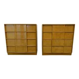 Mid-Century Modern Heywood Wakefield Tall Dressers - a Pair For Sale