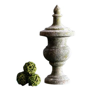 19th Century Antique Stone Finial For Sale