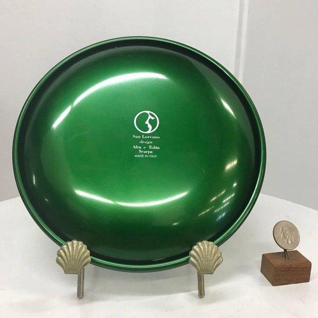 Afra & Tobia Scarpa Set of Italian Decorative Plates by Afra E Tobia Scarpa San Lorenzo Design For Sale - Image 4 of 10