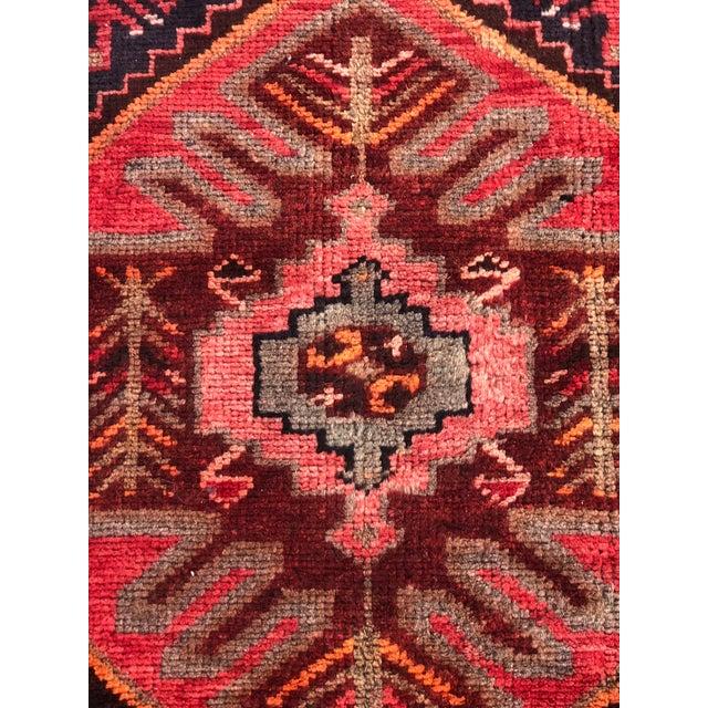 Vintage Persian Hamadan Runner - 3′3″ × 9′5″ - Image 4 of 11