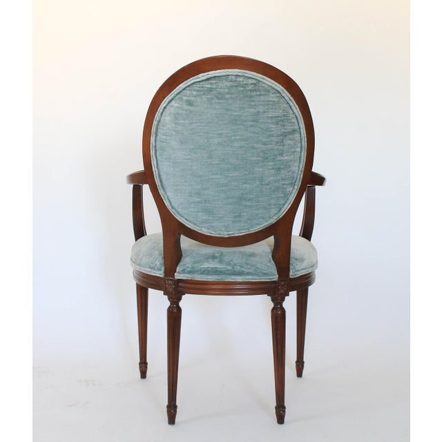 Early 20th Century Oval-Back Fauteuil For Sale - Image 5 of 12