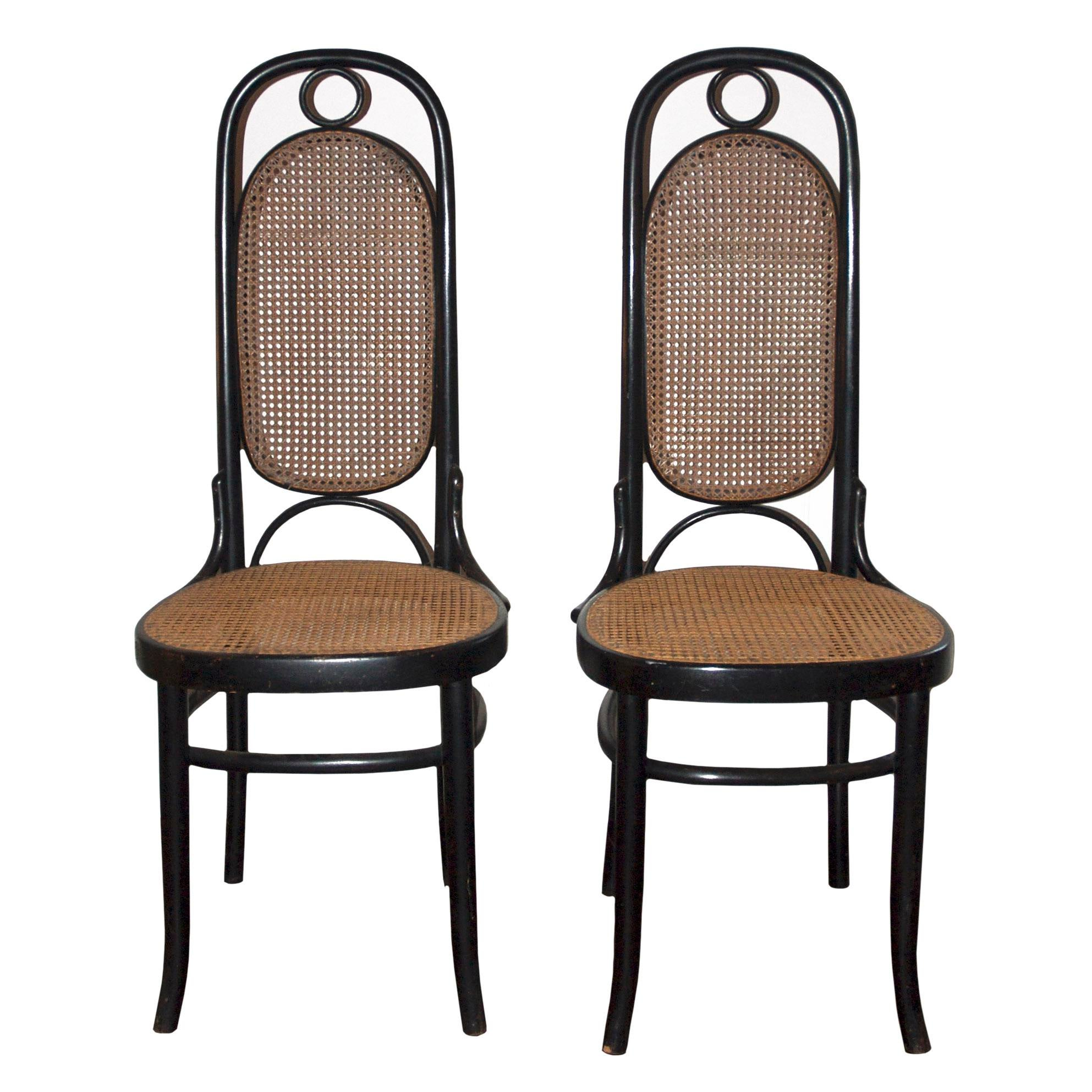 Michael Thonet Model 17 Bentwood Side Chairs   A Pair   Image 6 Of 6