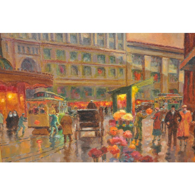 Impressionism San Francisco Oil Painting by Lorain For Sale - Image 3 of 8