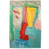 Image of Calman Shemi, Soft Painting. Signed and Numbered For Sale