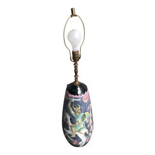 Marian Zawadsky for Tilgman Keramik Sweden Lamp