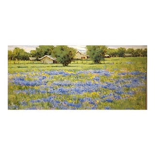 "Judy Crowe ""Texas Spring"" Oil Painting For Sale"