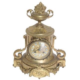 19th Century Tiffany & Co. Bronze Mantel Clock For Sale