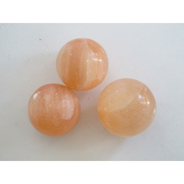 Pink Calcite Spheres - S/3 - Image 2 of 7