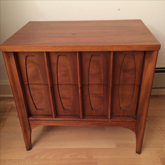 Kent Coffee Townhouse Mid-Century Nightstand - Image 3 of 3