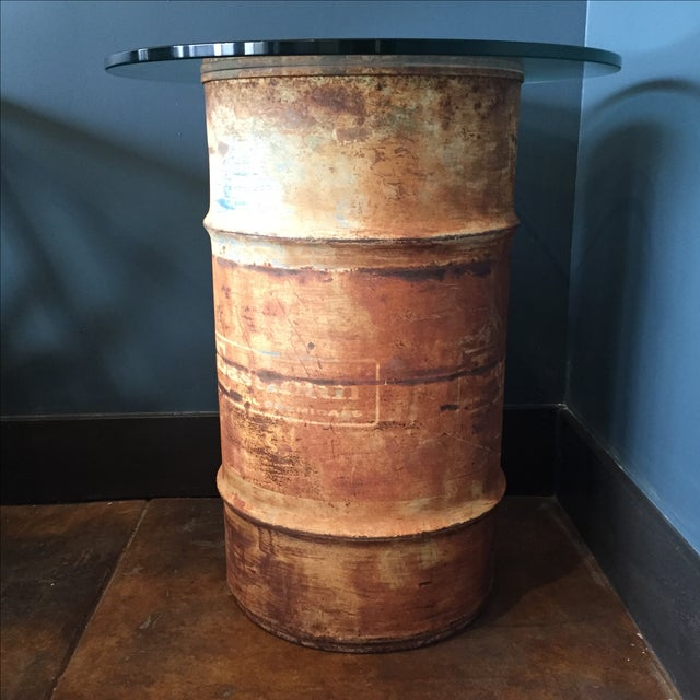 Oil Drum Table - Image 4 of 9