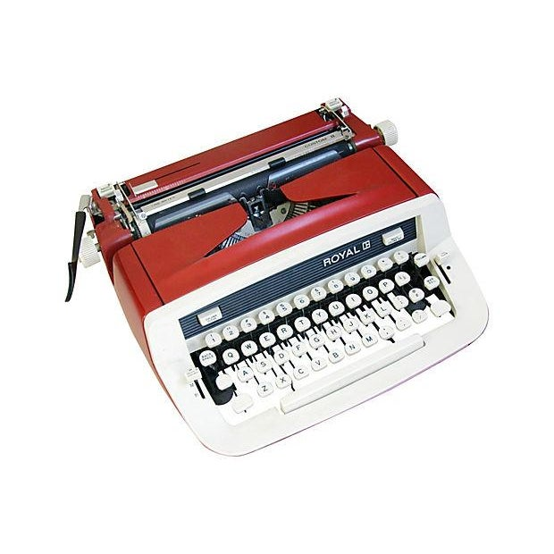 Vintage 1970s Royal Custom II Typewriter & Case - Image 6 of 7