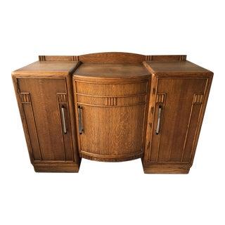 Art Deco Sideboard Credenza For Sale