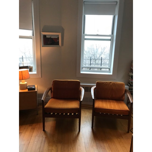 Dux Danish Modern Teak Barrel Back Chairs - a Pair For Sale In New York - Image 6 of 11