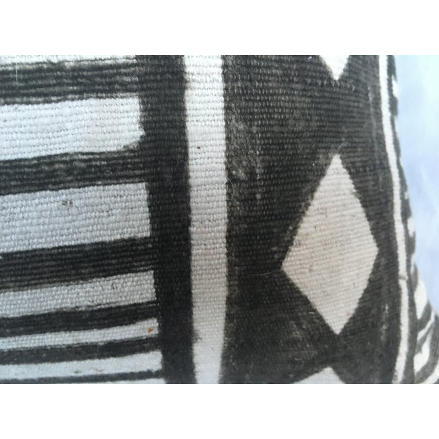 African Tribal Mud Cloth Pillow - Image 6 of 7