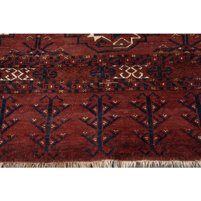 """Antique Tribal Rug, 3'1"""" X 5'4"""" For Sale - Image 4 of 7"""