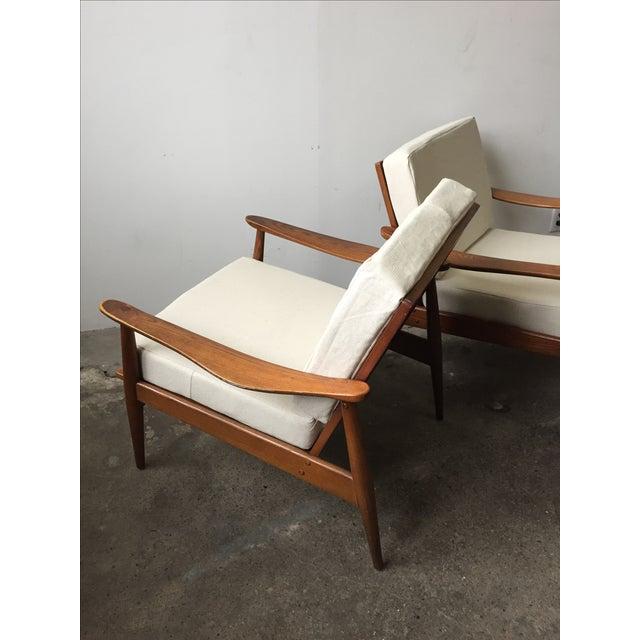 Oak Mid-Century Armchair-Single Chair - Image 3 of 11