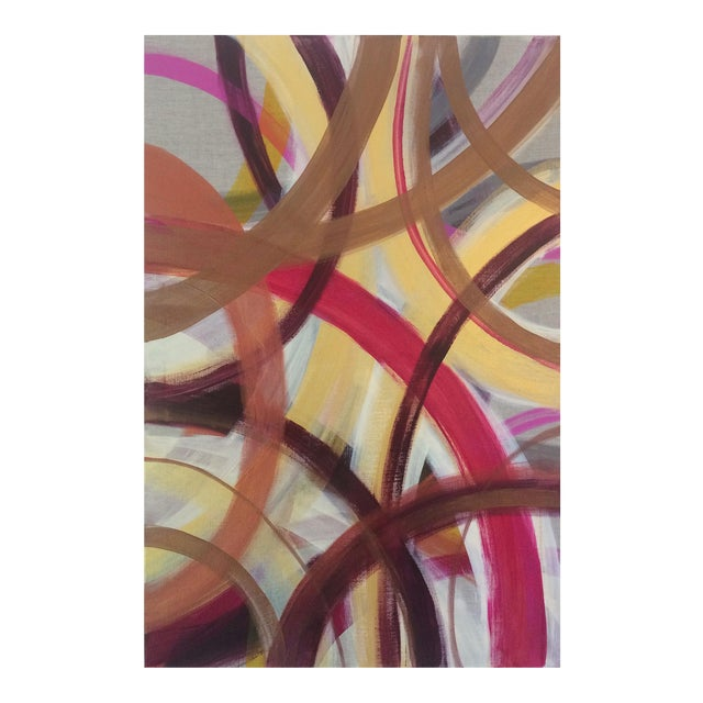 'AUTUMN' original abstract painting by Linnea Heide - Image 1 of 7