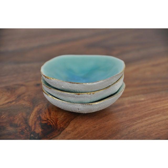 Blue Sea Urchin Dish - Image 3 of 7