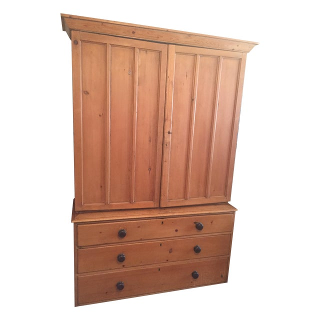 Vintage Turn of the Century American Linen Press - Image 1 of 6
