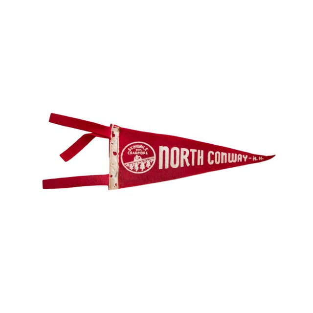 North Conway Felt Flag For Sale - Image 4 of 4