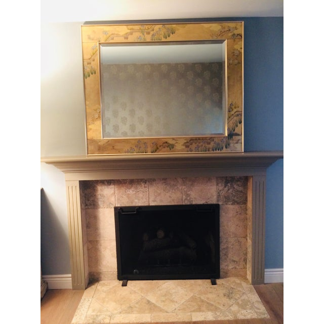 1980s La Barge Chinoiserie Mirror For Sale - Image 13 of 13