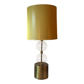 Arteriors Seeded Glass Gold Lamp & Shade