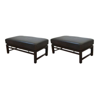 Mid-Century Modern Edward Wormley for Dunbar Benches - a Pair For Sale