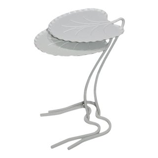 Mid-Century Modern Salterini Lily Pad Tables Nesting Set of 2 For Sale
