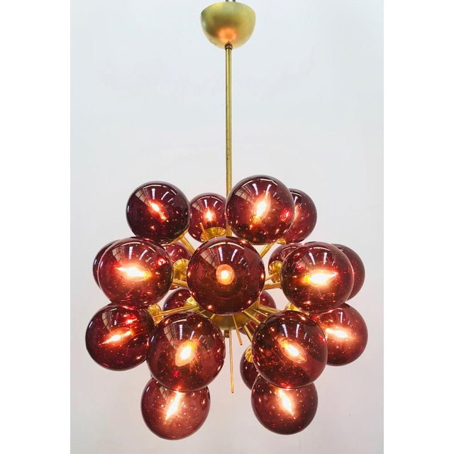 Not Yet Made - Made To Order Ventiquattro Sputnik Chandelier by Fabio Ltd For Sale - Image 5 of 12