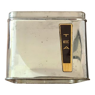 Mid-Century Modern Lincoln Beautyware Tea Canister For Sale