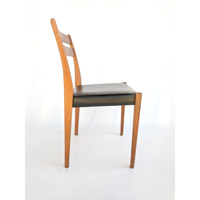 1960s 1960s Svegards Markaryd Swedish Modern Teak Dining / Side Chair For Sale - Image 5 of 9