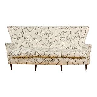 1950s Italian Paolo Buffa Style Sofa For Sale