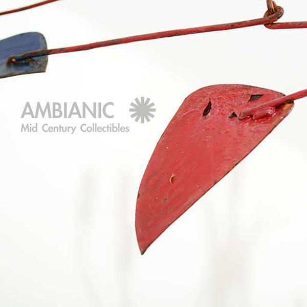 Mid-Century Modern Mid-Century Modern Style Mobile Hanging Sculpture For Sale - Image 3 of 5