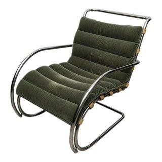 Knoll Studio Mr Lounge 1970s Chair Design of Mies Van Der Rohe For Sale