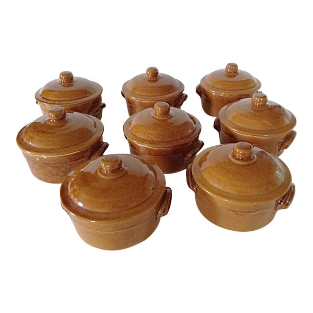 Country French Soup Tureens - Set of 8 - Image 1 of 3